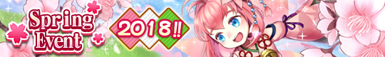 Spring Event 2018 is Now Live!!