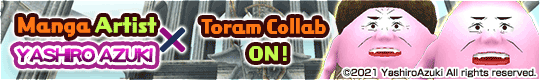 YASHIRO AZUKI x Toram Online Collab Event Is Back!